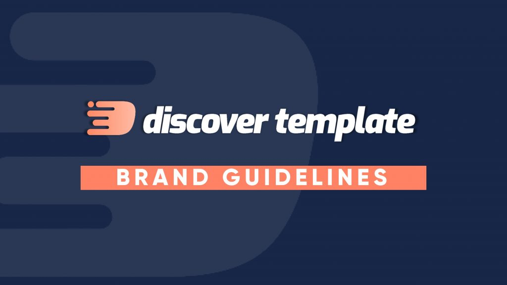Free presentation template of Brand Guidelines