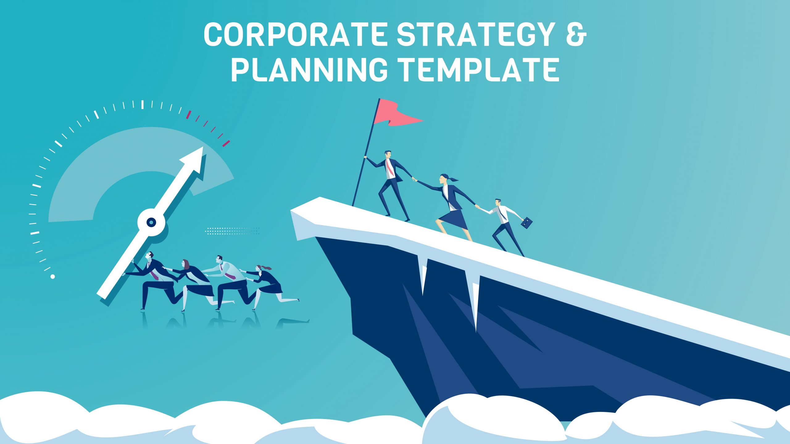 Free presentation template of Corporate Strategy & Planning