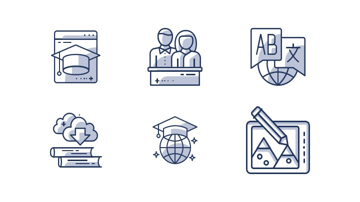 Download Free Icon Pack for E-Learning