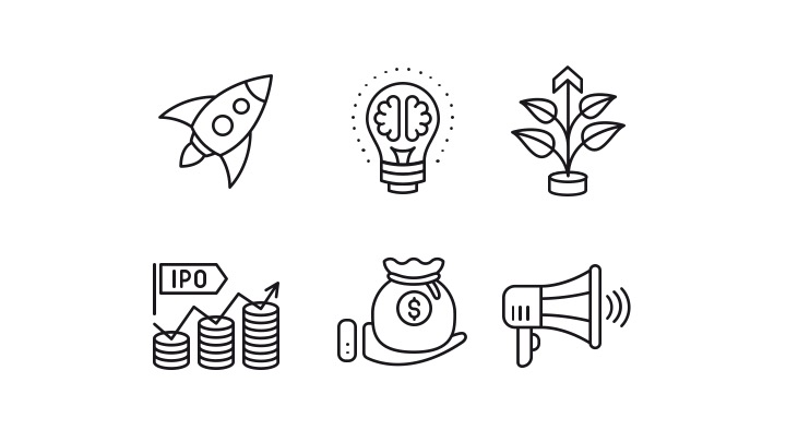 Download Free Icon Pack for startup