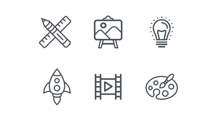 Download Free Icon Pack for general activities