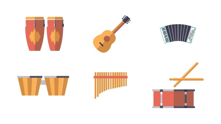 Download Free Icon Pack for Music Instrument
