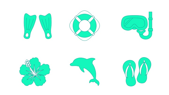 Download Free Icon Pack for Summer