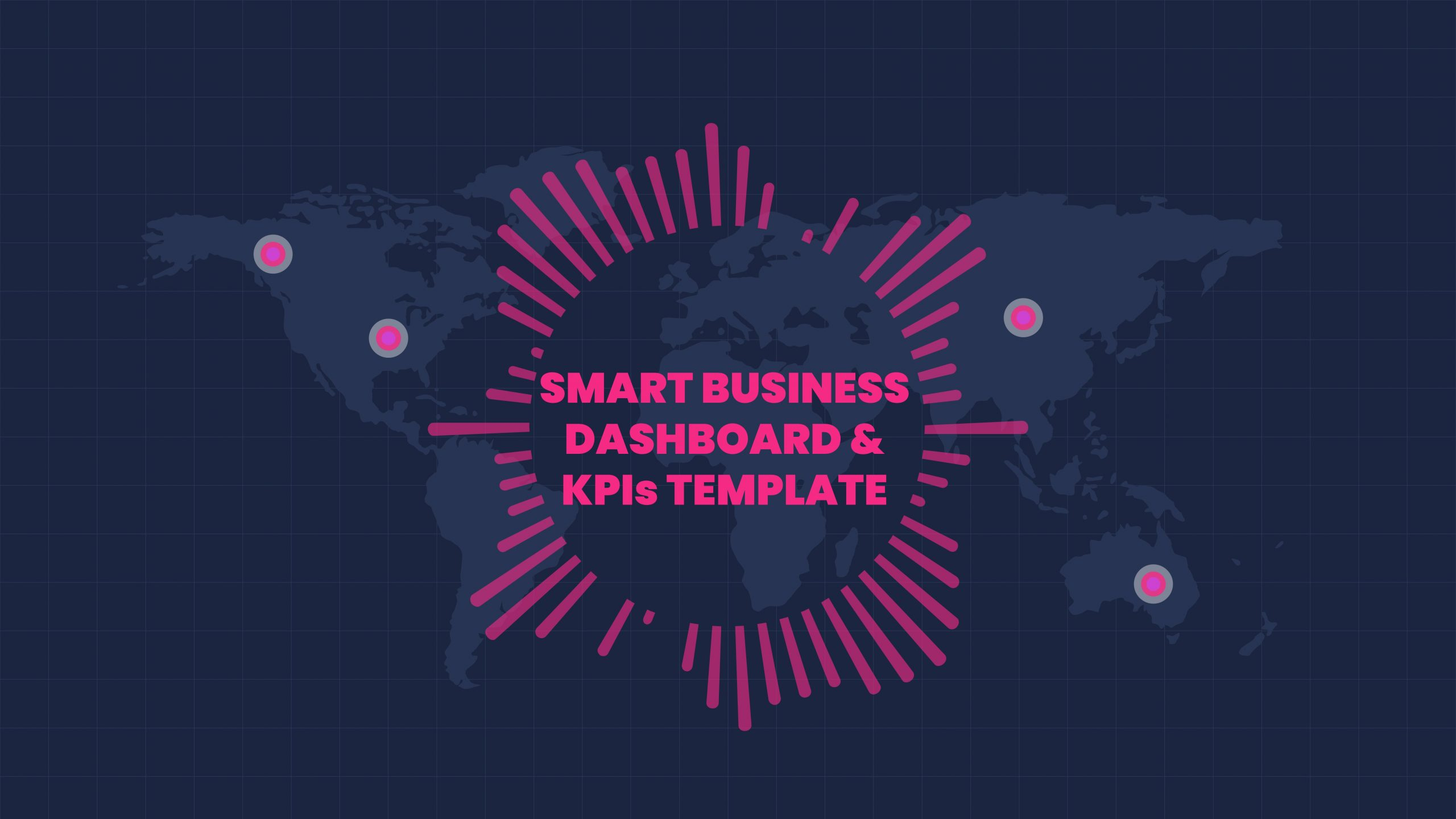 Free Smart Business Dashboard and KPIs Template