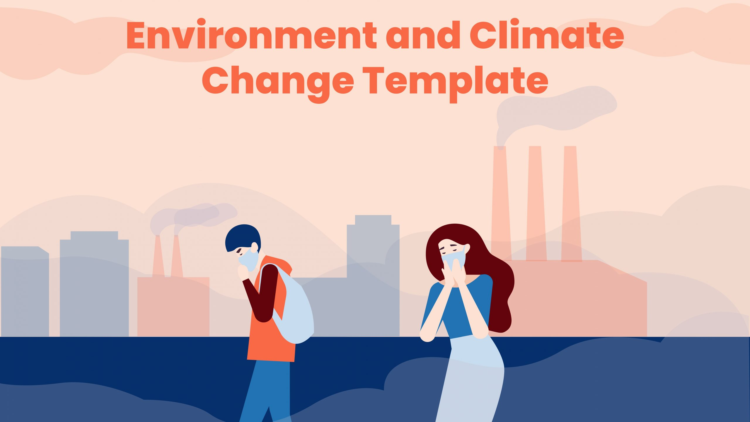 Free Environment and Climate Change Template