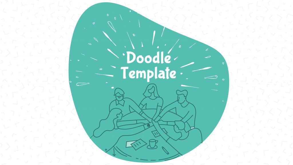 Free presentation template of Doodle