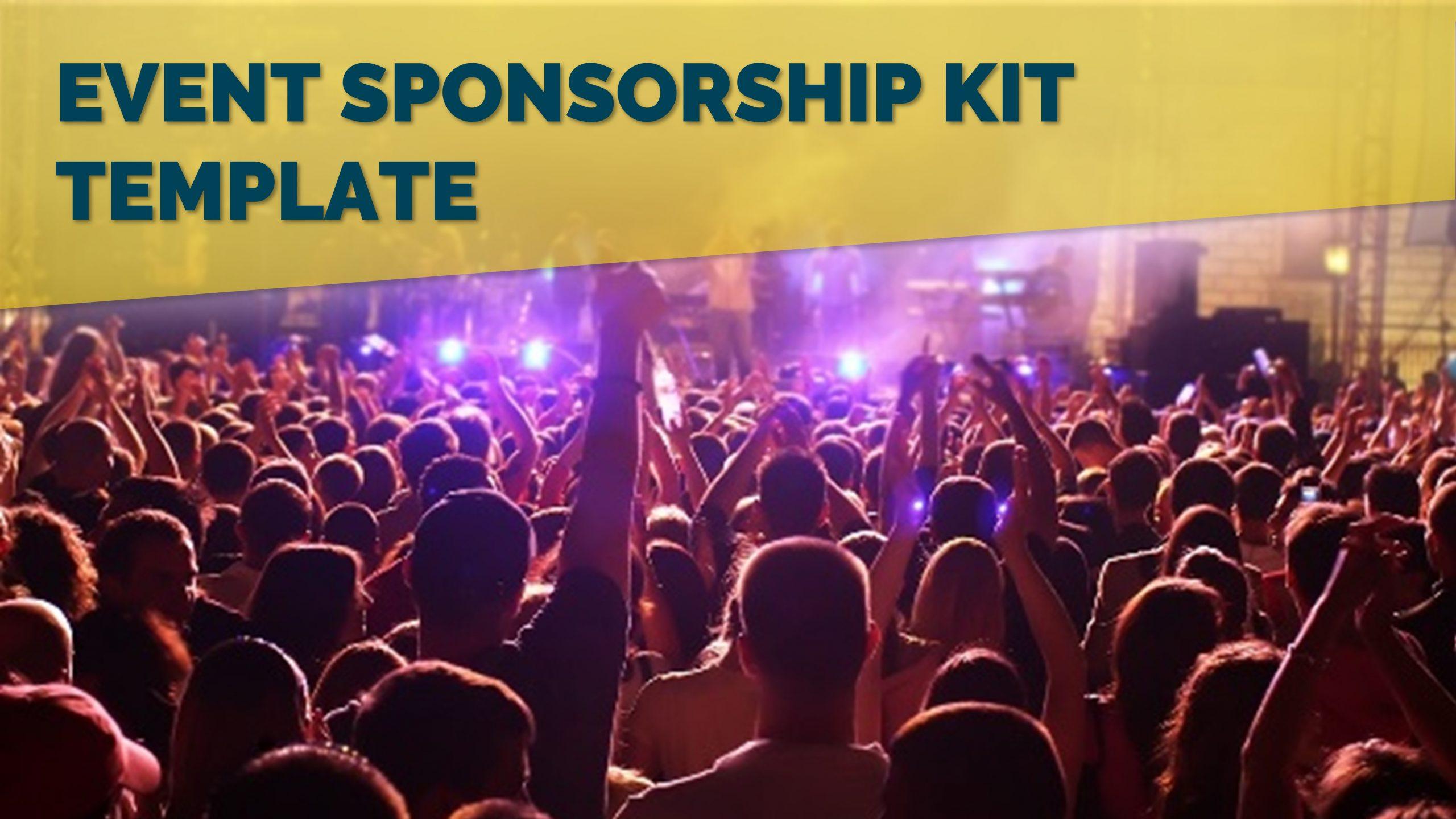 Free presentation template of Event Sponsorship Kit