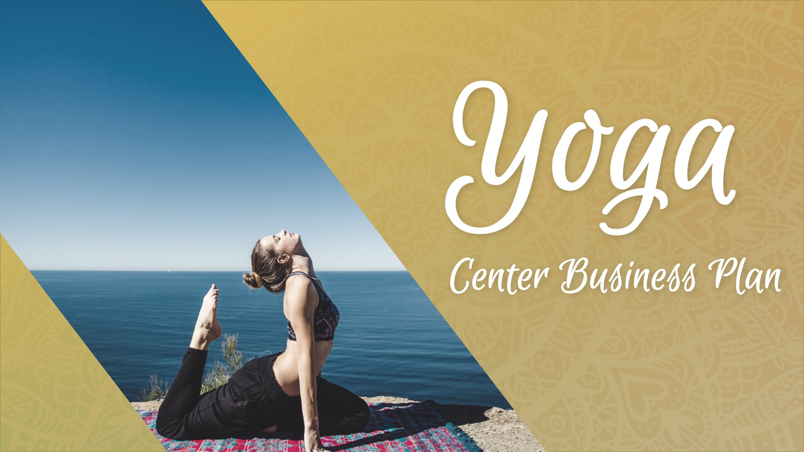 Free template of Yoga Center Business Plan
