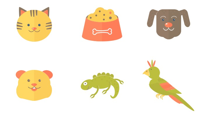 Download Free Icon Pack for Pets