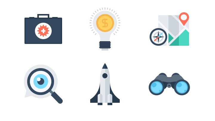 Download Free Icon Pack for SEO and Development
