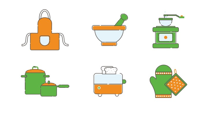 Download Free Icon Pack for Kitchen Tool