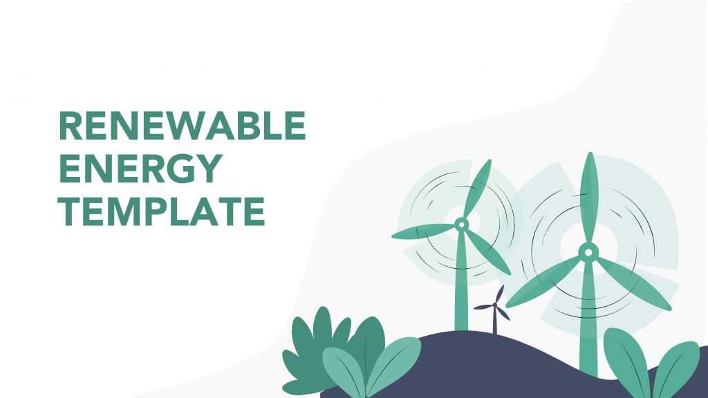Free presentation template of Renewable Energy