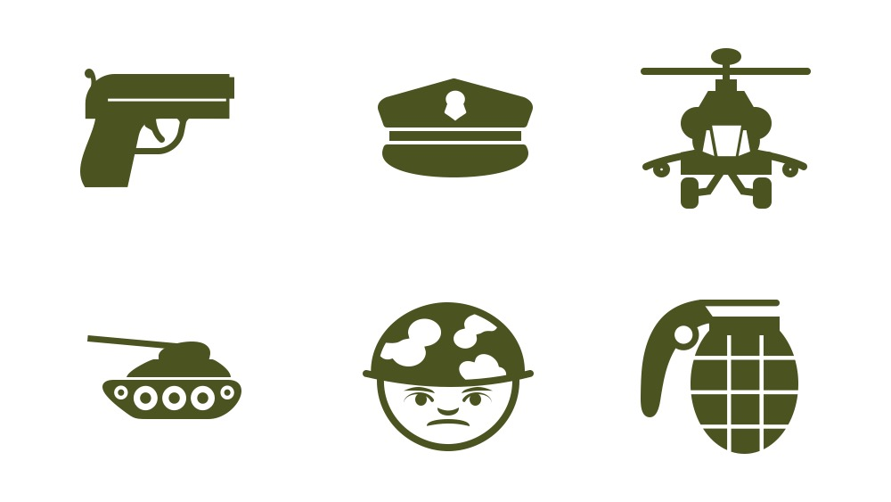 Free Icon Pack military