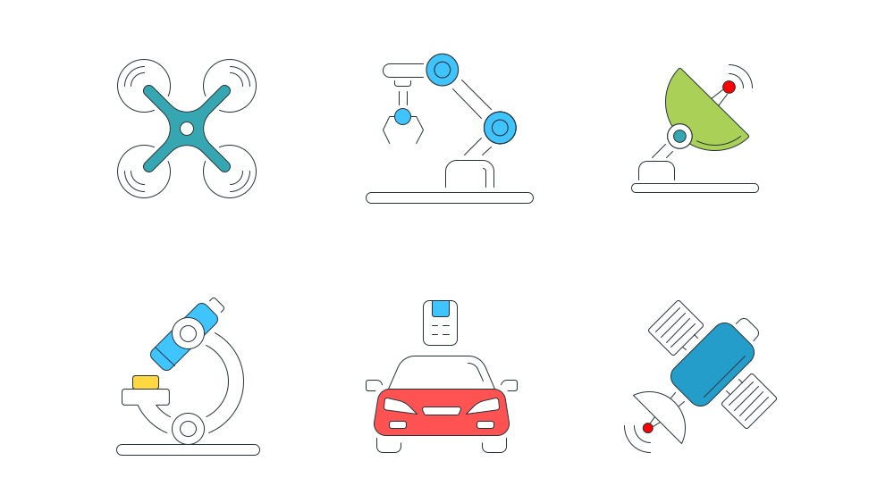 Free Icon Pack for Smart technology