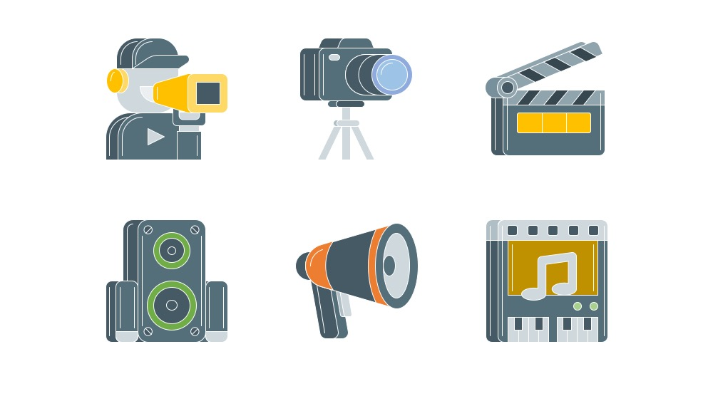 Free Icon Pack for Video