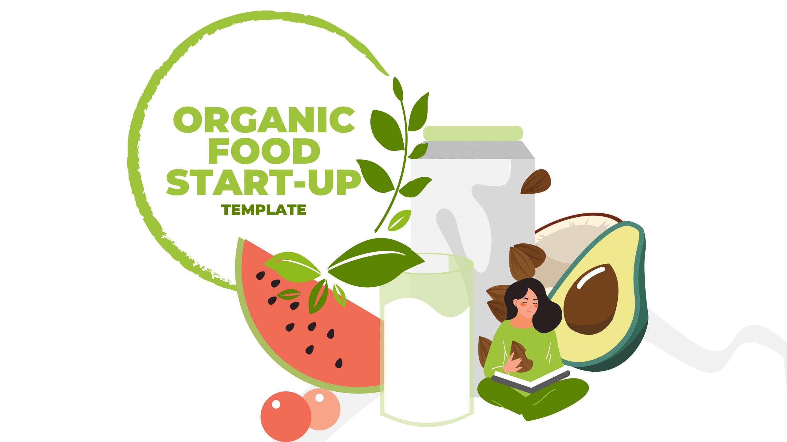Free presentation template of Organic Food