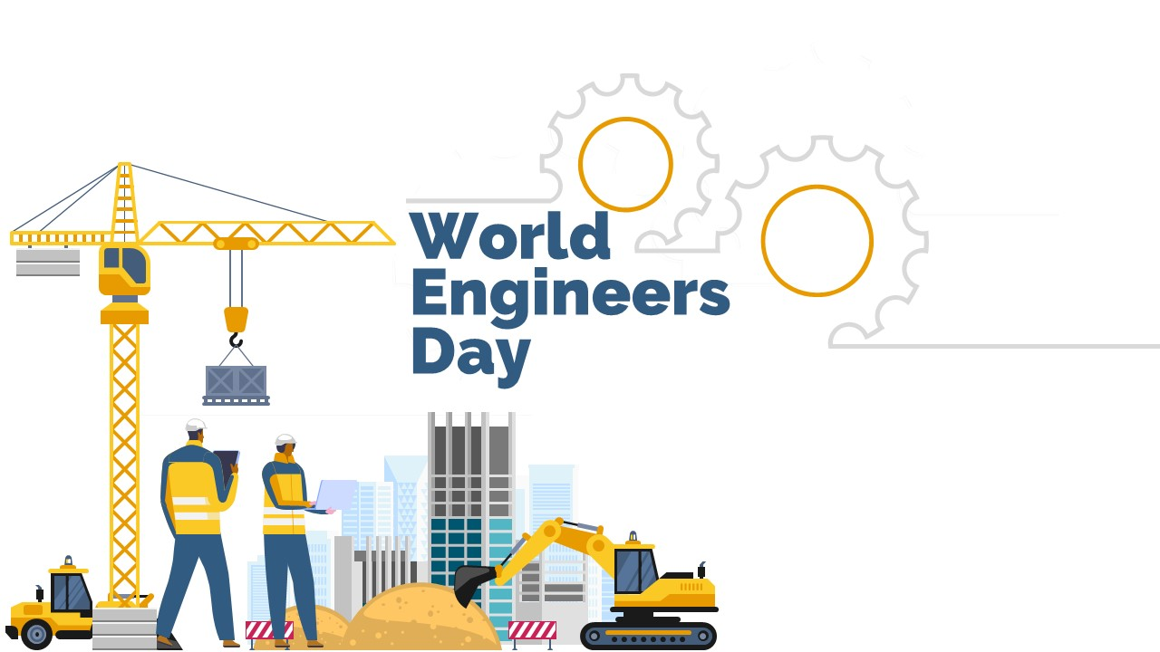 presentation template of World Engineer's Day