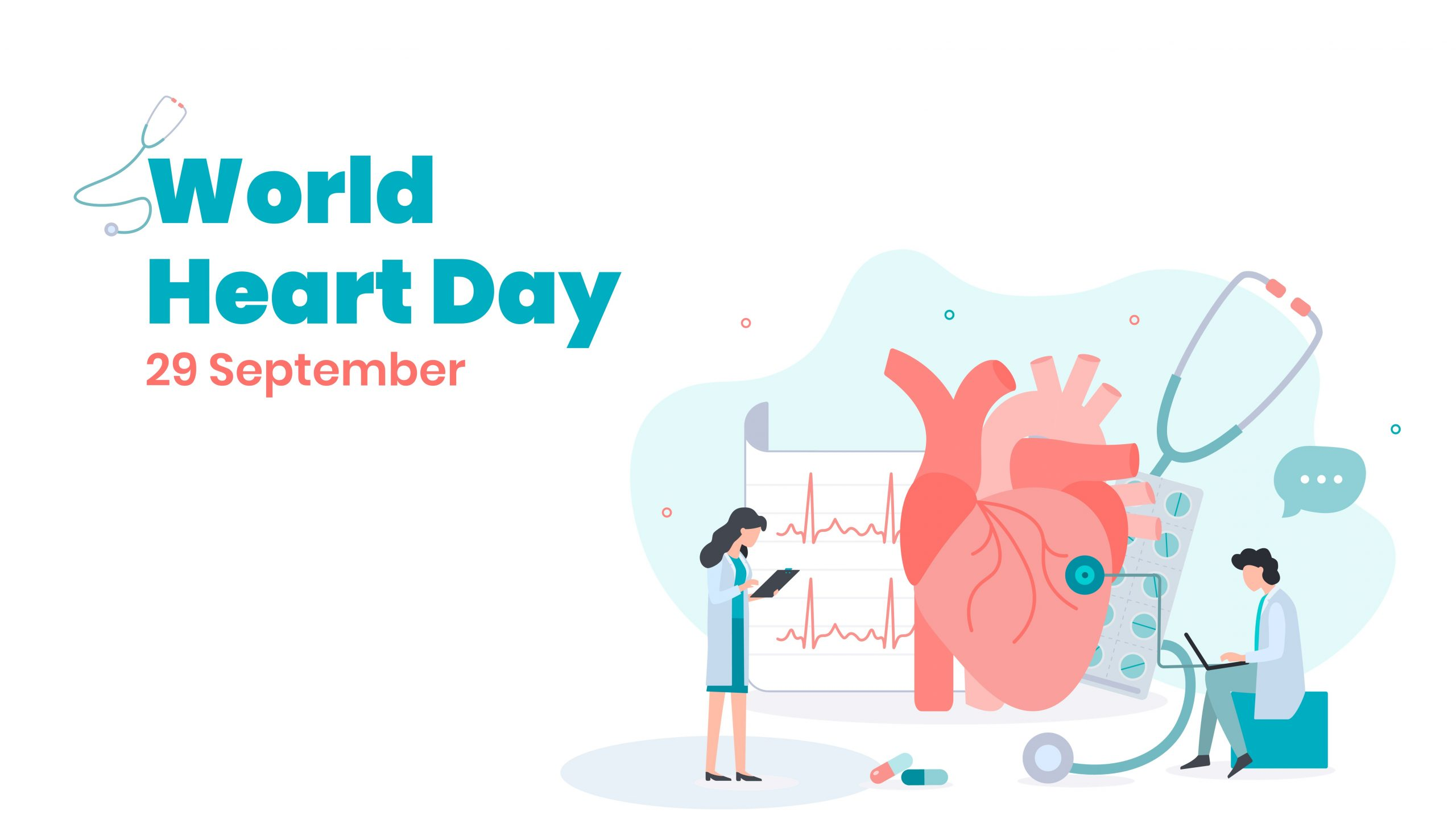 presentation template of World Heart Day