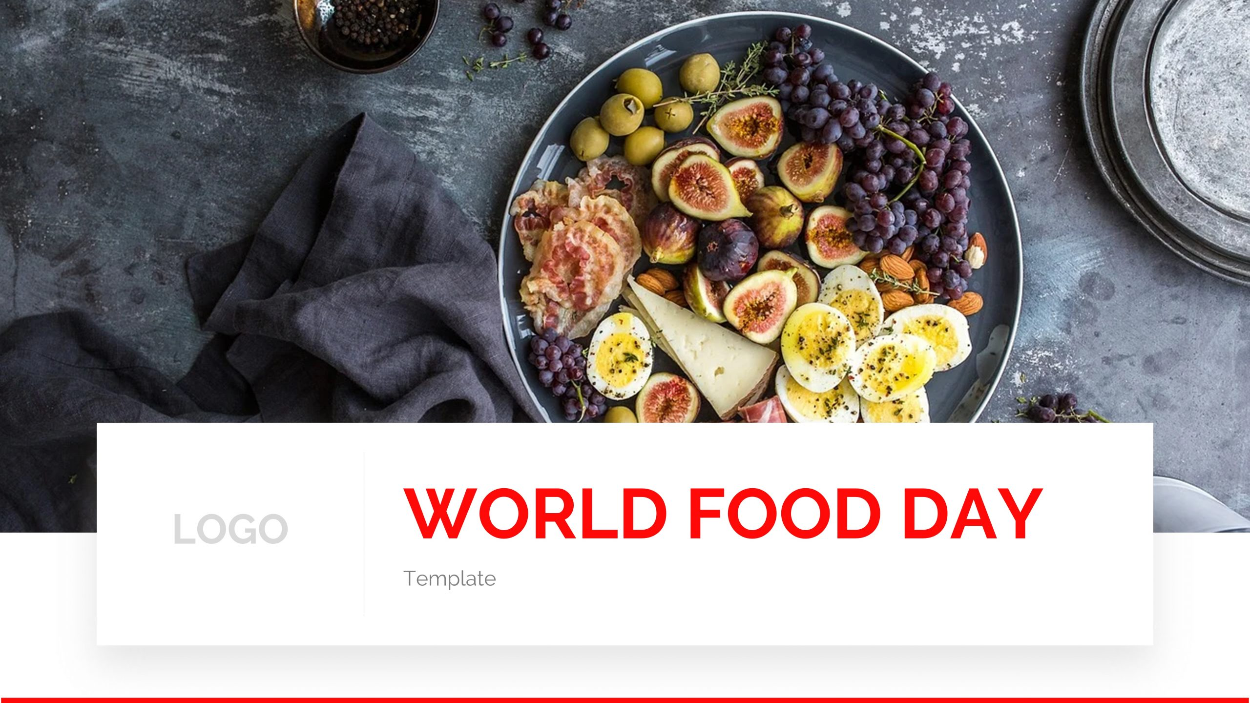 presentation template of World Food Day