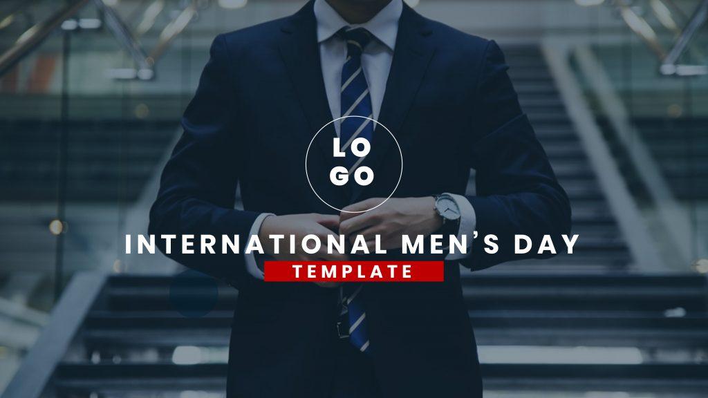 presentation template of International Men's Day