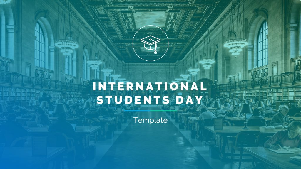 presentation template of Students Day